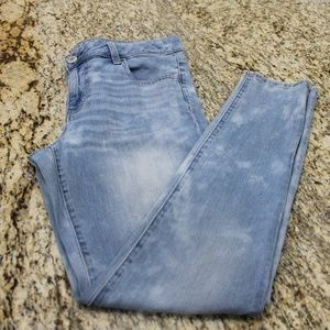 American Eagle Super Low Rise Jegging Size 16 Long